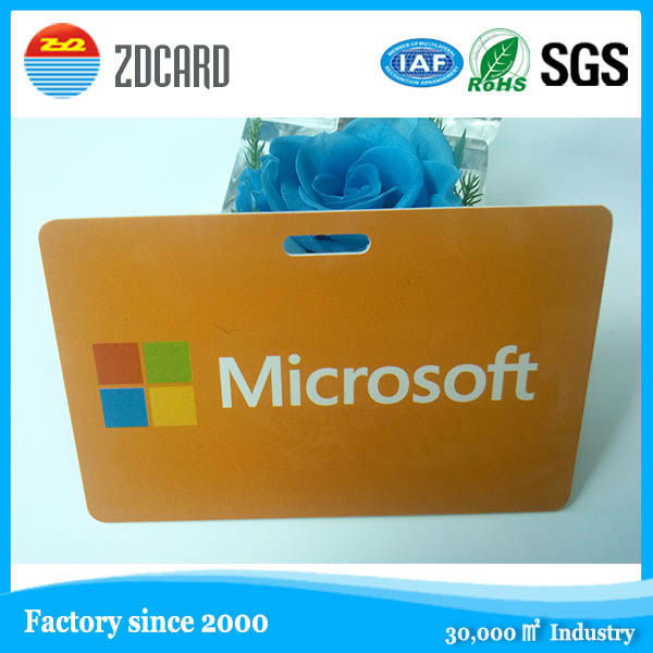 OEM gold supplier card manufacturer HF passive personalized plastic smart card