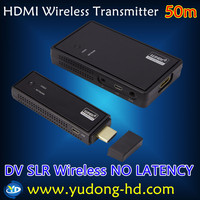 WHDI wireless HDMI Video transmitter and receiver 50m Wireless HDMI Extender 50m