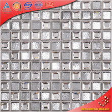 SA34 Cheap kitchen wall sicis tiles 3D stainless steel wall mosaic