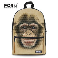 Fashion dinosaur backpack kids,with monkey and wolf backpack promotion