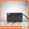 5125 Cartera a la moda con flecos, Latest fashionable wallet with fridge.