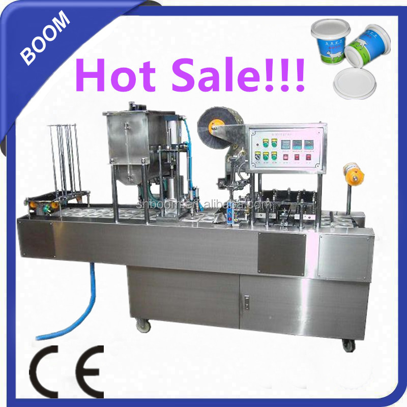Cup Packed Yogurt/Milk/Coffee/Juice Filling Sealing Machine