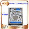 HDD for used laptops in bulk hdd 2.5 used 500gb hdd internal refurbished/pulled hard disk drive