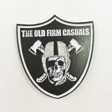 High Quality Award Security Metal Enamel Badges UK with Glitter