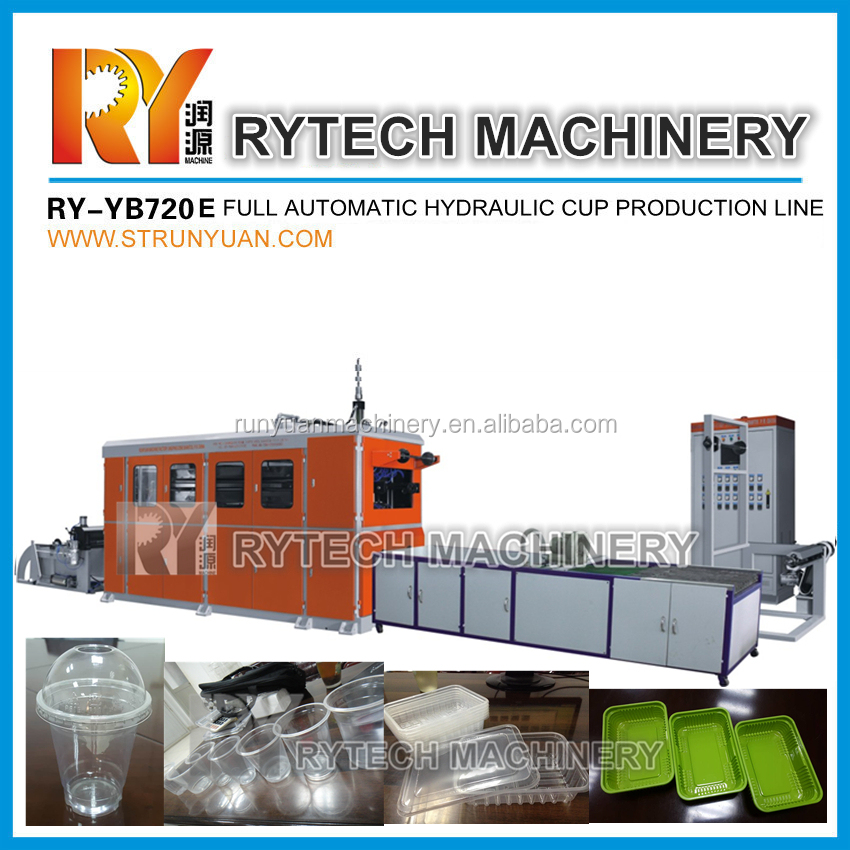 Sale Price Disposable Plastic Glass Making Machine