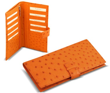 Orange Color Ladies Bags