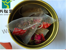 pyramid tea bag Customize blend flower tea in pyramid tea bag