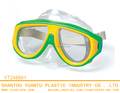 Children funny swimming Free diving mask design eyewear wide vision diving mask glasses