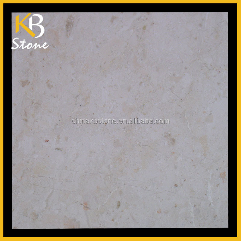 Chinese supplier Polished Indonesia Beige marble tile for floor