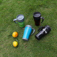 double walled thermal plastic cup/plastic advertising cup