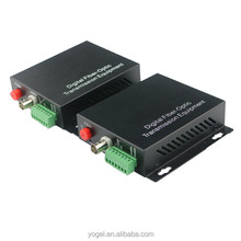 Alibaba China Supplier Free Samples Fiber Optic Digital Video Transmitter and Receiver