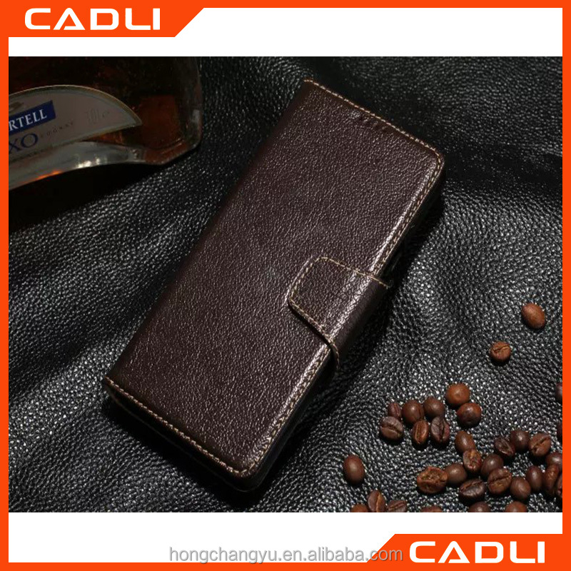 2016 New arrival High quality Soft Dermis Leather Mobile phone shell for SAMSUNG Note5