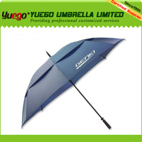 GENKI Minions Double Canopy Durable Blue Promotional Golf Umbrella