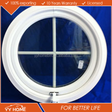 YY Home Australian Standard AS2047 High Quality Round Aluminium Window
