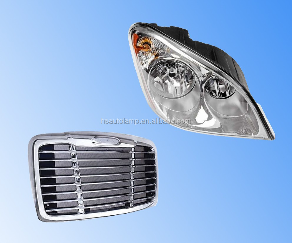 Freightliner Cascadia Truck Body Parts/Head Lamp/Chrome/Grille/Headlight