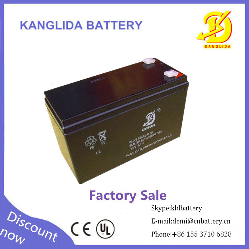 12v9ah vrla batteries china supplier for ups usage made in China factory wholesale
