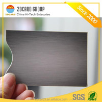 Manufacturer price Aluminium foil paper rfid blocking sleeve for credit card on sold in Amazon