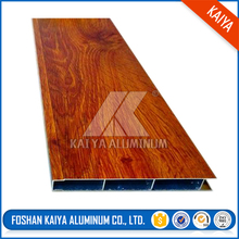 High-Grade Outdoor Furniture 6063 T5 Wood Grain Aluminum Profile