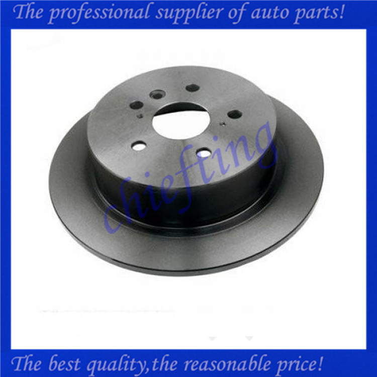 DF7863 42431-48060 42431-0E040 980631 rotors and breaks for toyota highlander