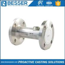 flowmeter housing 4Cr13 stainless Q235 cast iron 4140 steel investment castings cold room door handle
