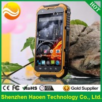 Factory Price Durable Smart Phones IP67 Waterproof Shockproof Outdoor Mobile Phones Android4.4 3G GPS Military Rugged Cellphones