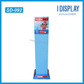 square 4 sides Cardboard Display Rack For toys