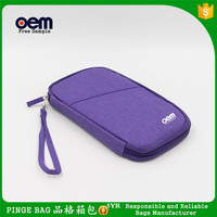 Branded Custom Order Hard Candy Berry Plush Hand Bags Soft Purple Mini Cosmetic Bag Makeup Brush Set Kit
