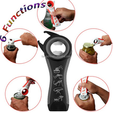 TANGCHU 5 in 1 Multifunctional Opener Hot Sell Stainless Steel Can Opener Premium Bottle Jar Beer Opener Kitchen Gadgets