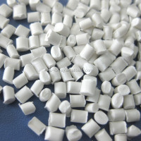 White color master batch plastic granule for injection moulding