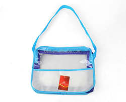 2016 summer transparent plastic one shoulder jelly bag
