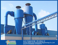 85%-90% Dust Removal Effiency Industrial Flue Gas Treatment Cyclone Dust Collector