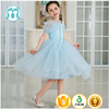 children dress in sky blue color beautiful medium frock model designer one piece party wear baby cotton frocks