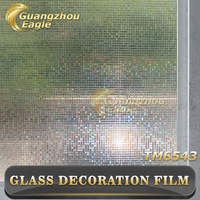 High Quality Removable Window Film/Static Cling Window Film/Glass Decoration Decals