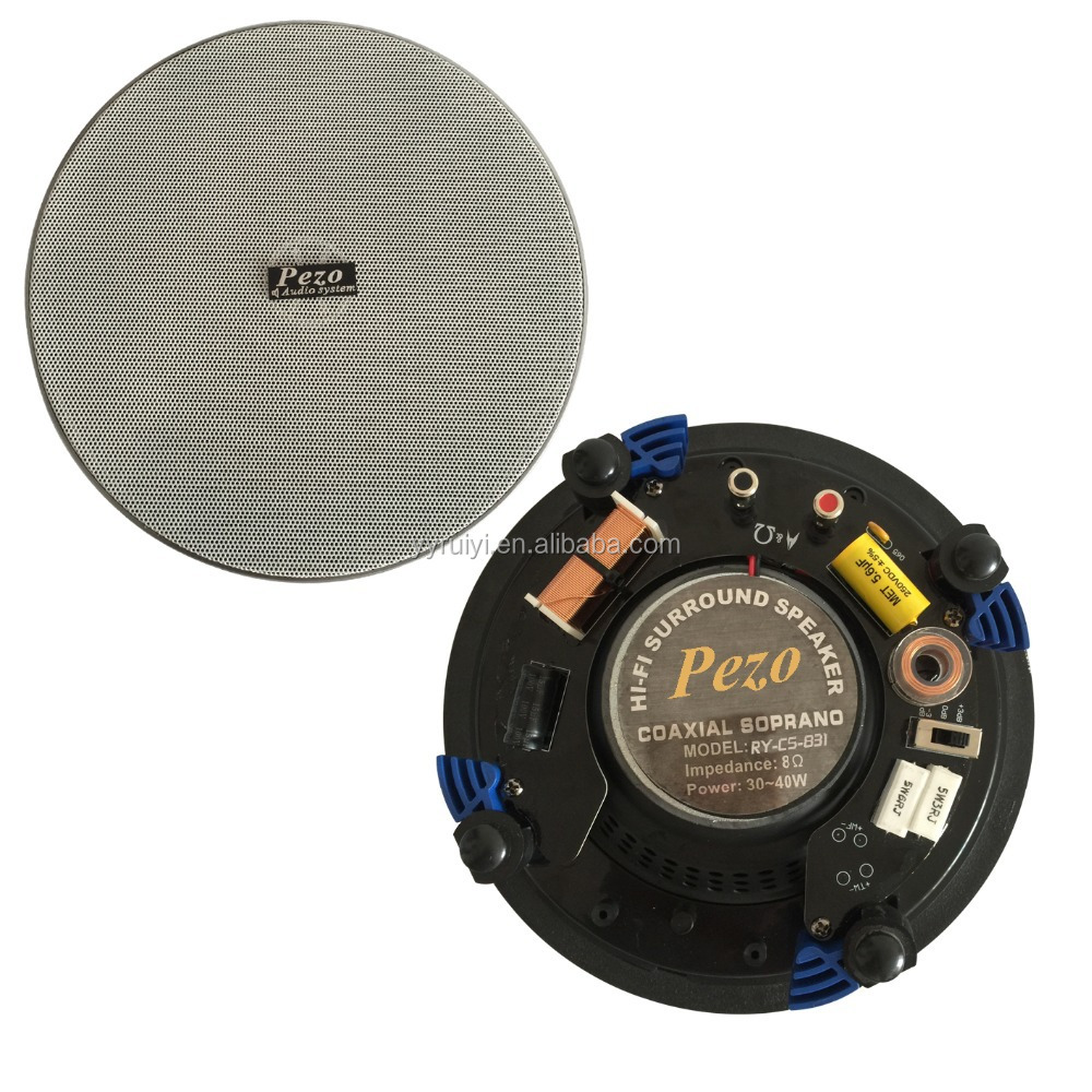 PEZO high performance kevlar cone background sound system speaker subwoofer