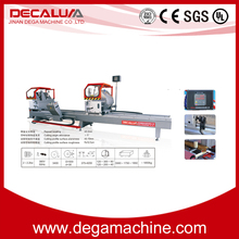Hot Sale Aluminum Window Door Fabrication Machine CNC Double Head Cutting Saw LJZ2-CNC-500x4200A