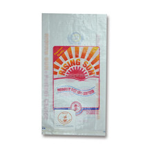 agricultural products kamal basmati rice packing pp woven bags for 2kg 5kg 10kg