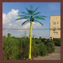 Iron LED coconut palm light tree 2014 new product deco tree light
