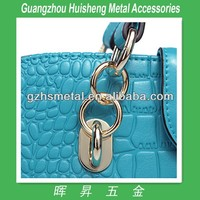 High Quality Fashion Style Metal Wire Buckles Metal Buckle For Bags Colored Metal Buckle