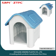 Factory Direct wholesale ventilation rainproof Plastic Dog Kennel
