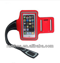 Nylon Sport Armbands, Smartphone Holder Armbands Cover for iPhone 4 4S