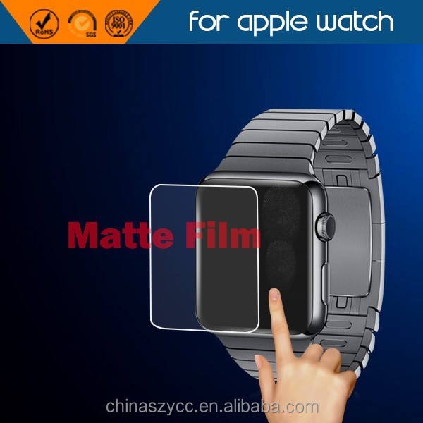 Matte screen protector for apple watch