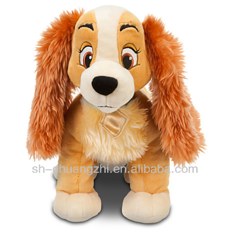 Diseny FAMA factory Lady and the Tramp Plush dog toys