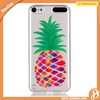 Pineapple tpu transparent case for ipod touch 5 accessories