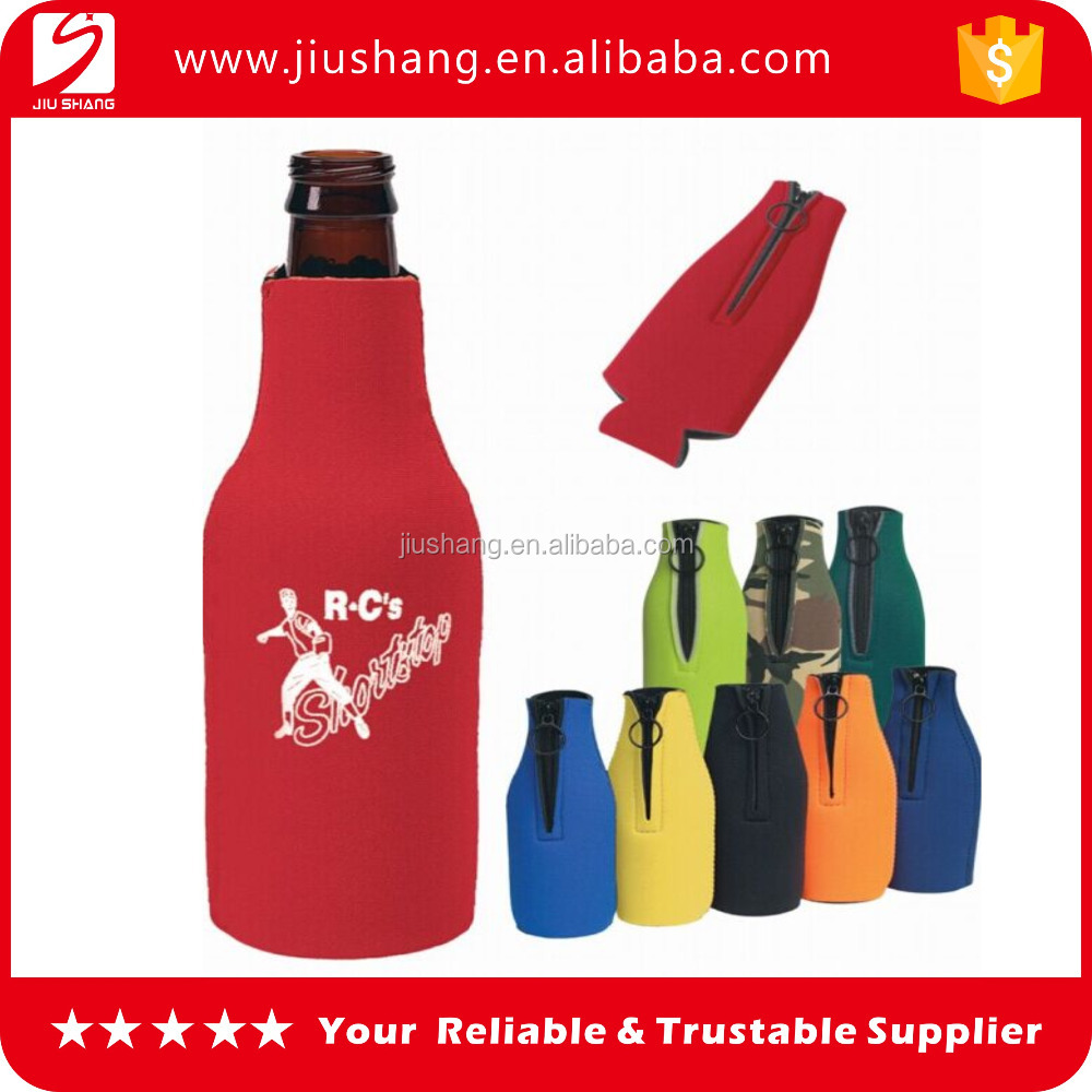 Professional insulated neoprene stubby beer bottle cooler holder