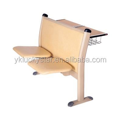 university stadium chair and desk soft chair and desk auditorium chair for school