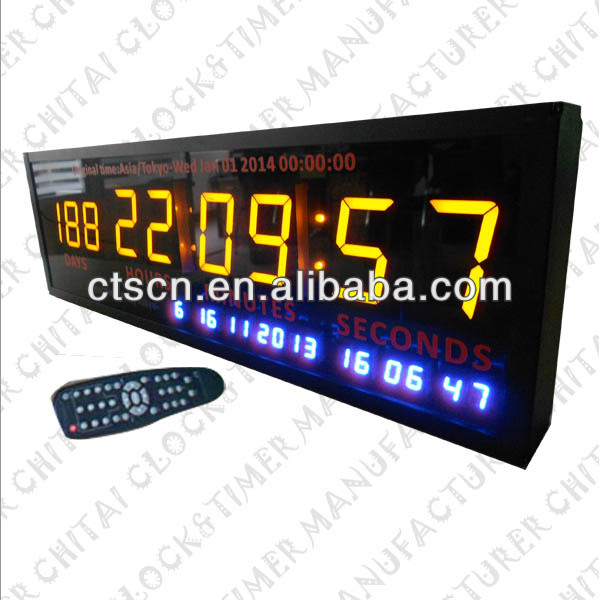 Multifunctional Wall Countdown Timer Cool Desk Clocks