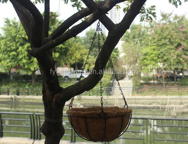 Hanging Flower Baskets Cone Shaped : Cone shaped wire hanging basket buy flower half