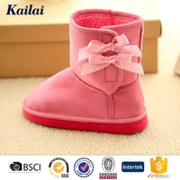 classy long sheep skin boots for girls
