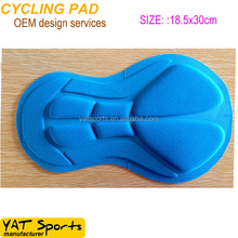 Free sample High density foam Best cycling shorts chamois bicycle croth pad