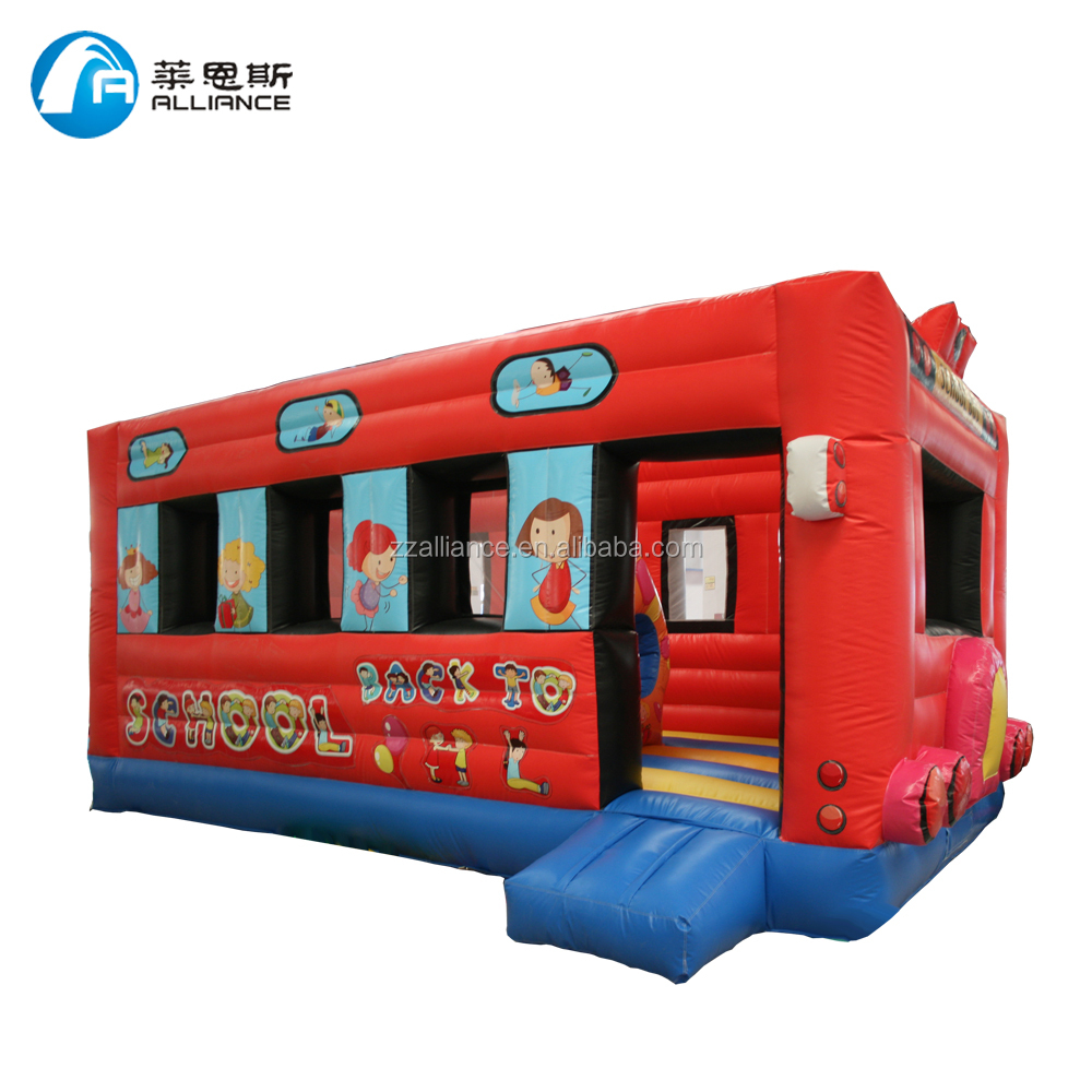 pvc cheap jumping inflatable bounce for fun, stimulating and fashion hot hire jumping bouncer house for kids